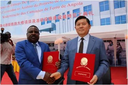 Truck Line Constructed by China Hyway Group Limited in the South of Angola Delivered Officially