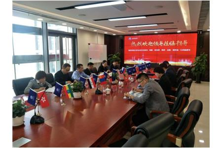 Leaders of Tianjin Commission of Commerce to visit Our Company for Research and Guidance